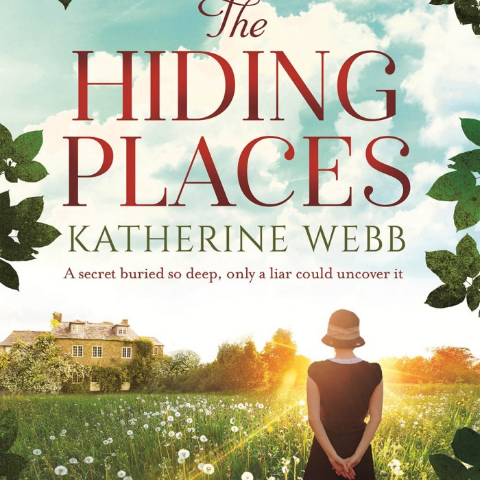 The Hiding Places - Coffee, Books and Paris Review