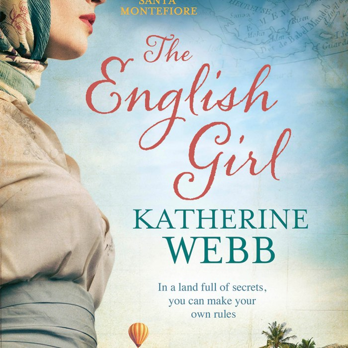 The English Girl – Reading Group Notes